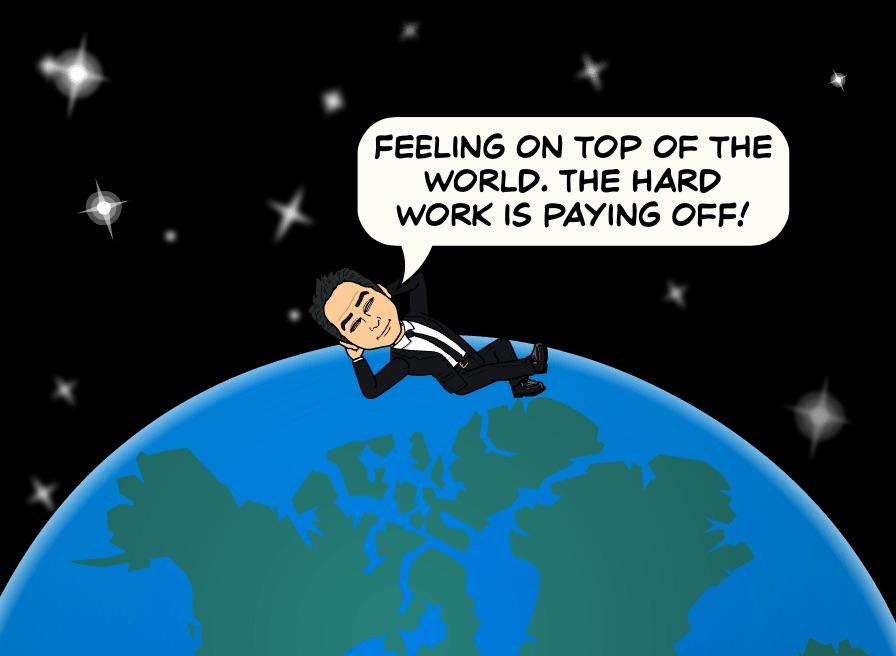 Opportunity Looks Like Hard Work