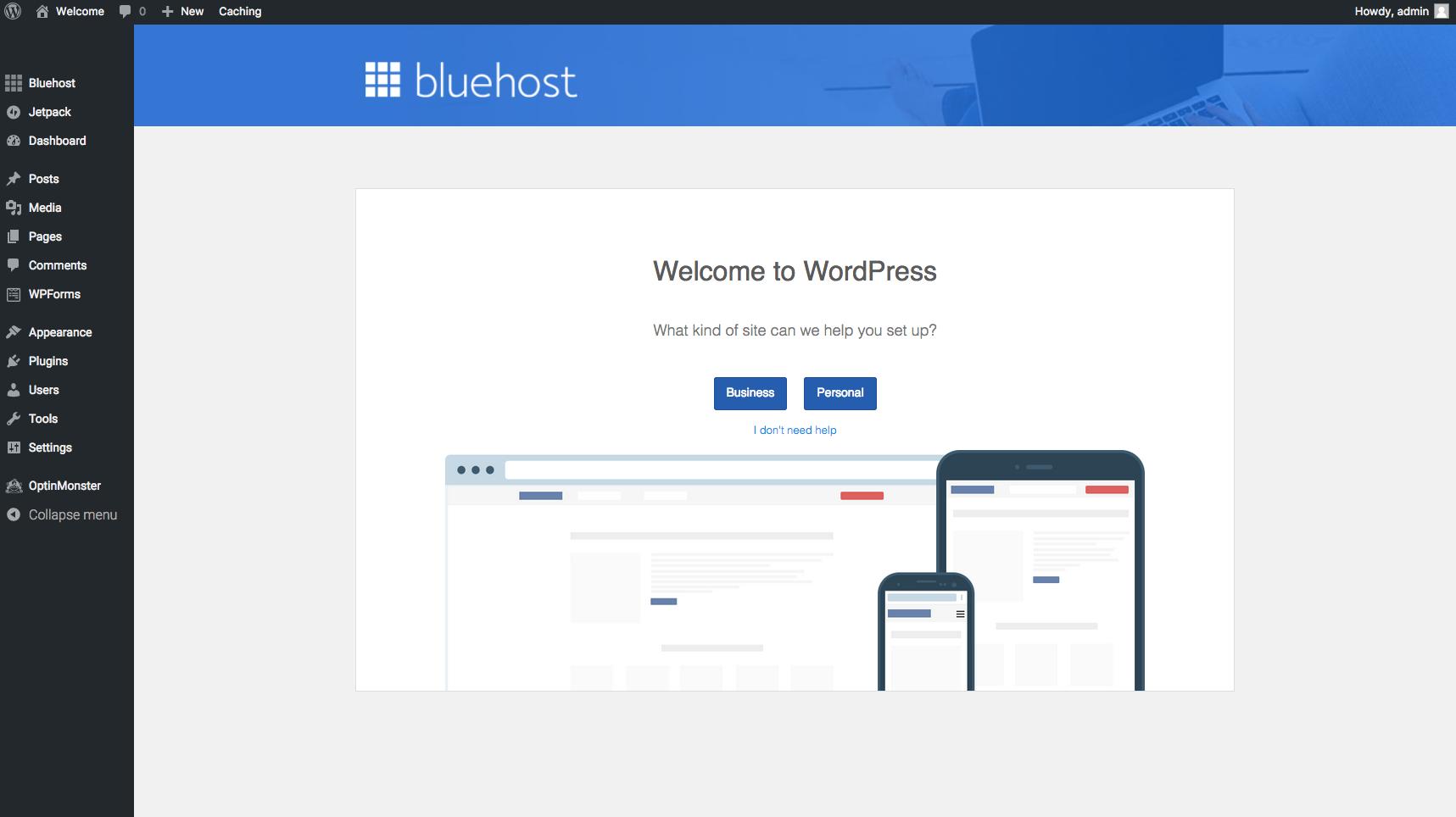 Bluehost Step 11 (11-6-17)