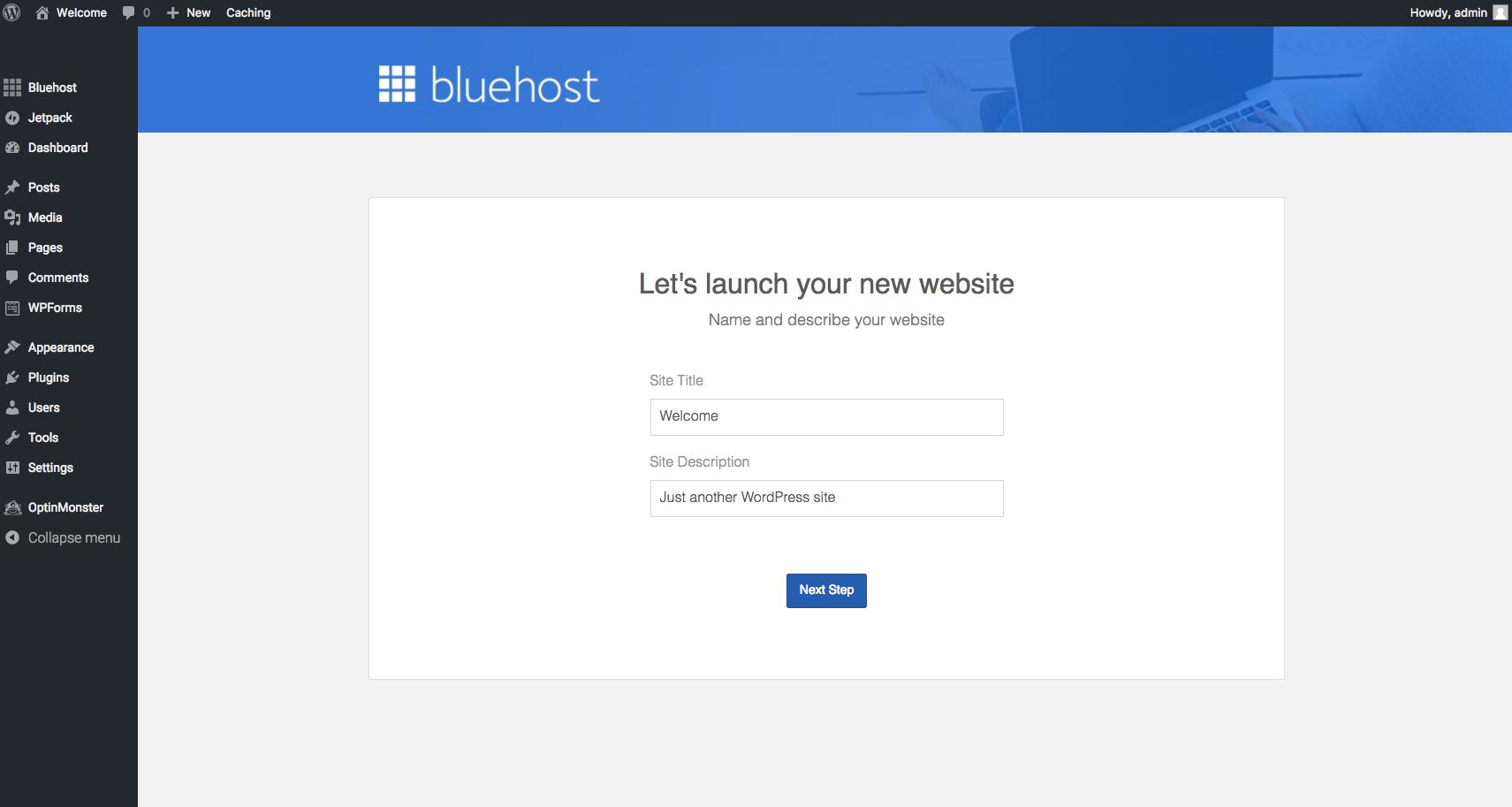 Bluehost Step 13 (11-6-17)