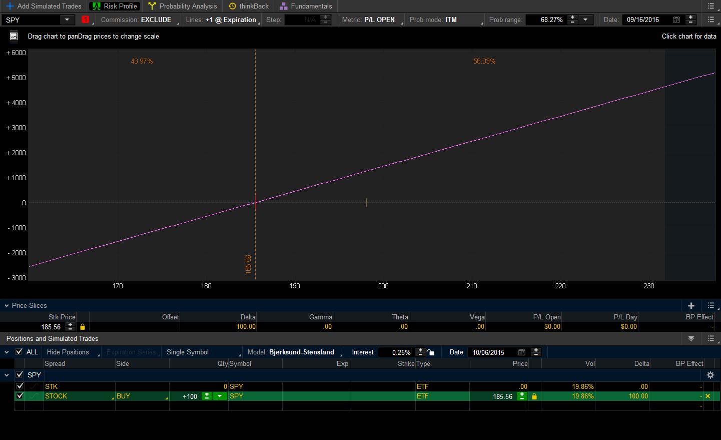 SPY Stock Risk Profile